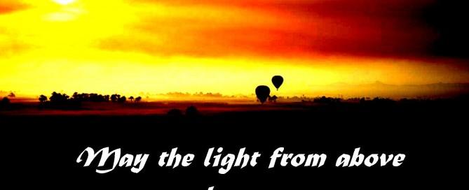 Hot-air balloon easter