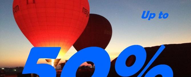 special offer magic hot-air balloon egypt